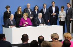 El nou Govern de Merkel s'estrena apujant les pensions un 3,4% (WOLFGANG KUMM/DPA - Archivo)
