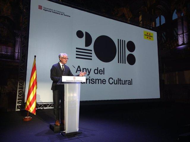 El director general de Turisme, Octavi Bono
