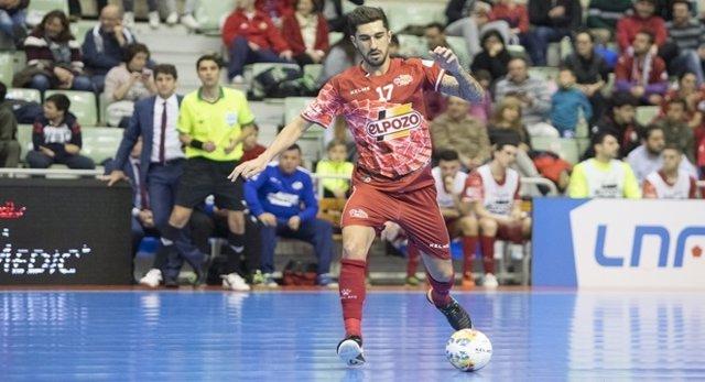 Fernando Drasler, jugador de ElPozo Murcia