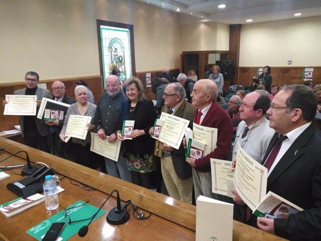 Premios del XVI Concurso de Relato Corto y Poesía de Personas Mayores en Jaén
