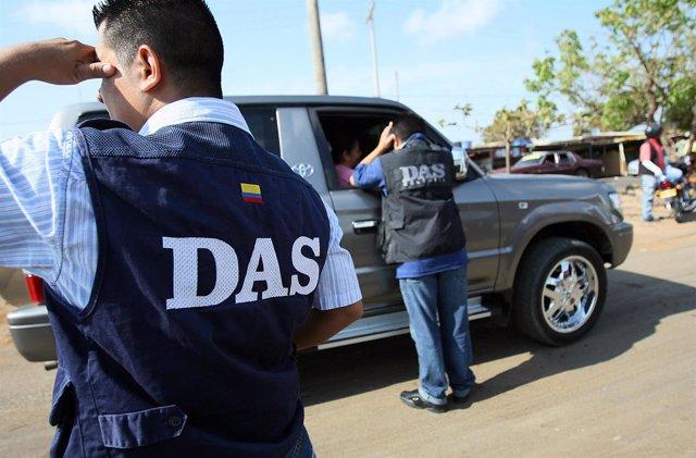 Miembros de la inteligencia colombiana (DAS)