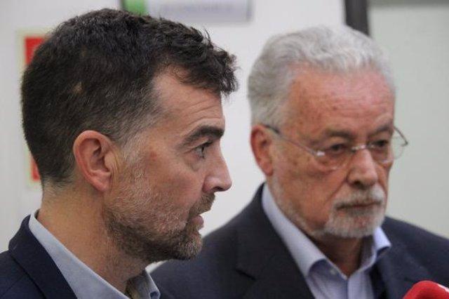 Antonio Maíllo y Jesús Maeztu
