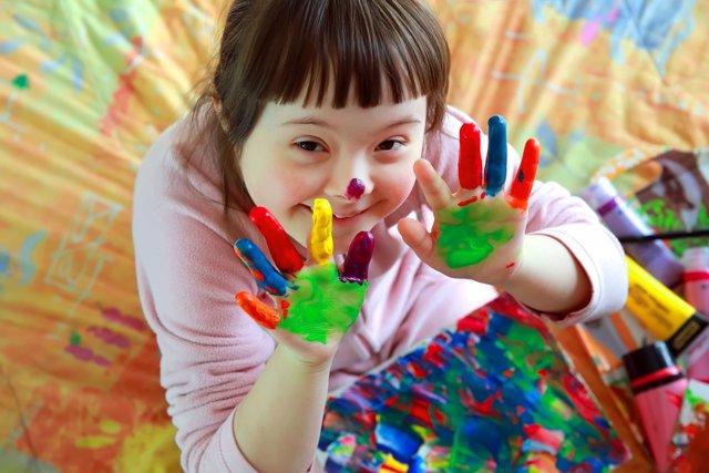 El desarrollo de un niño con Síndrome de Down se puede potenciar así