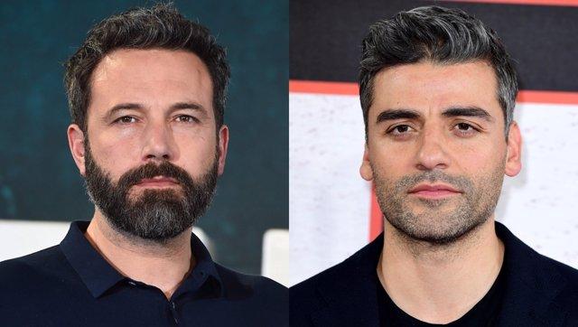 Ben Affleck y Oscar Isaac