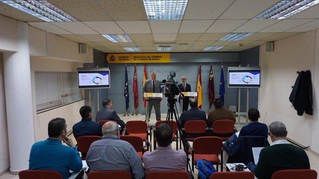 Bernabé y Herrero presentan el balance de AICA en la Comunidad de Murcia