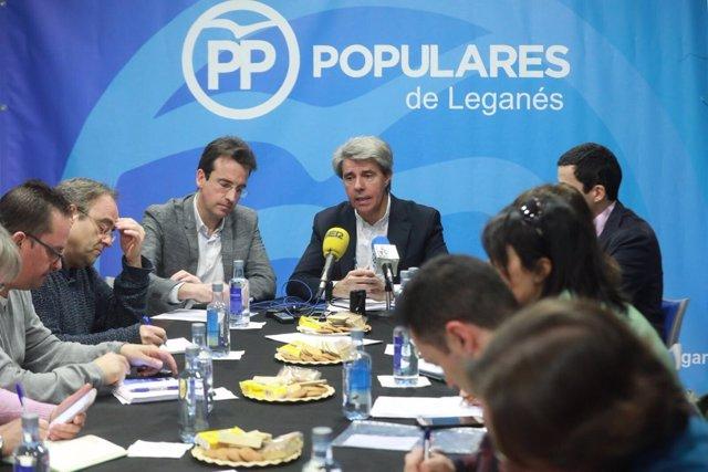 El consejero de Presidencia de la Comunidad, Ángel Garrido
