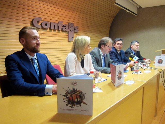 Valladolid.-Agencias de viajes presentan 'Viaja FACYL' en Salamca