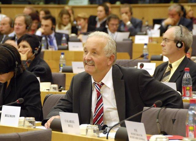 Udo Bullmann, nuevo líder de los socialistas europeos en la Eurocámara