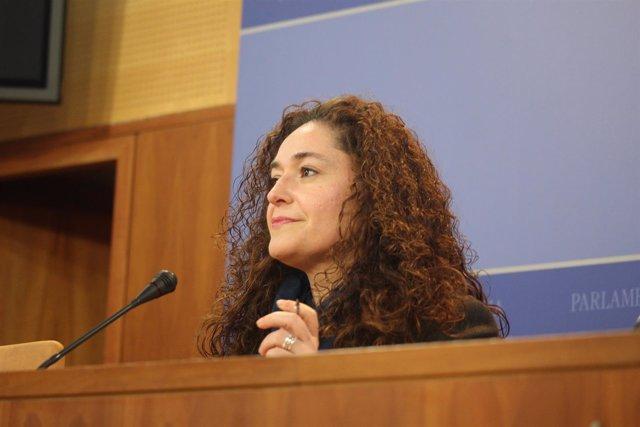 La portavoz adjunta del grupo parlamentario de IULV-CA Inmaculada Nieto