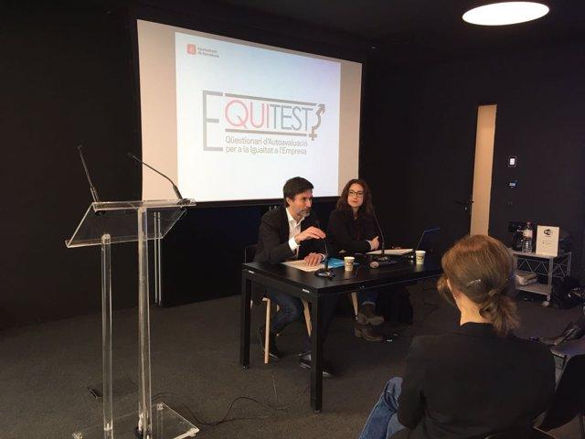 Presentación del Equitest con Laura Pérez y Lorenzo di Pietro