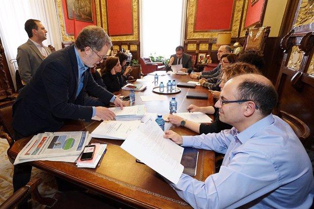 Junta de Gobierno del Ayuntamiento de Valladolid, 21-3-2018