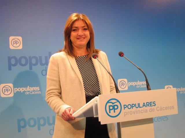 Pilar Pérez, portavoz de Educación del PP en la Asamblea
