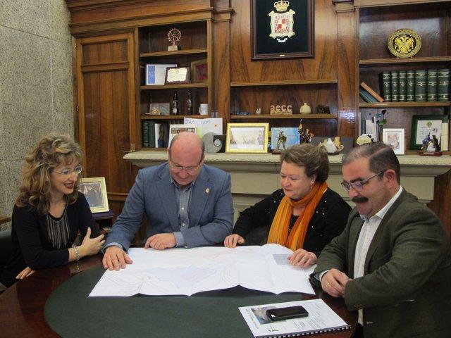 Reunión entre Diputación y Ayuntamiento