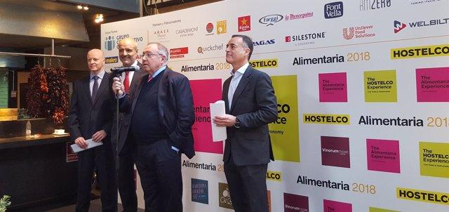 Presentación de Alimentaria y Hostelco en Barcelona