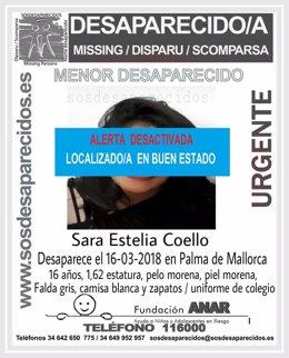 Localizada Sara Estelia