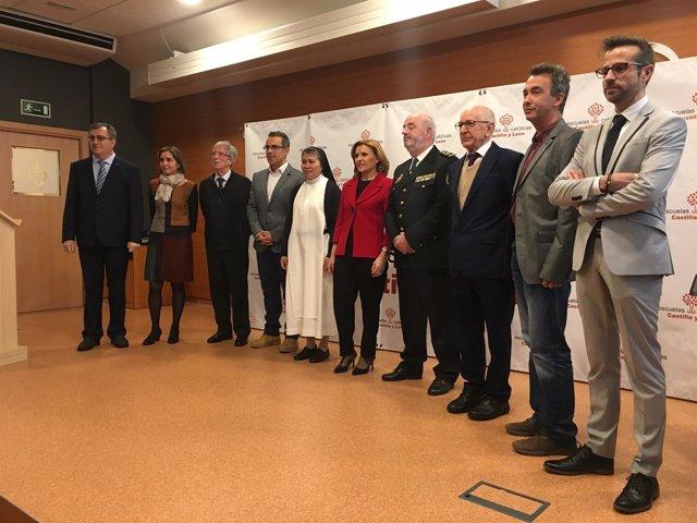 Valladolid.- Premiados por Escuelas Católicas de Castilla y León
