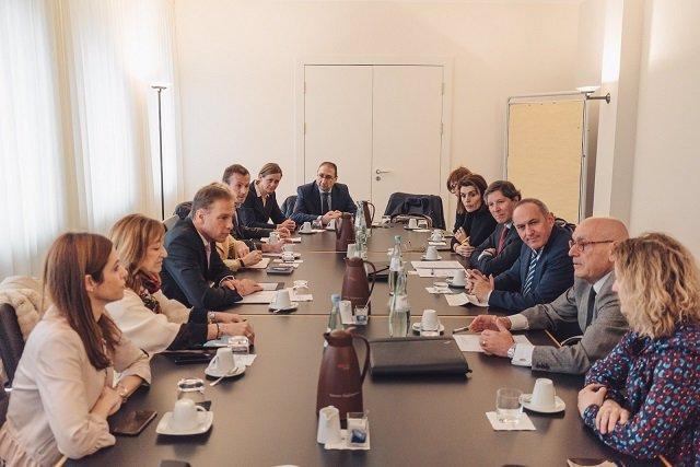Visita de la delegación alavesa a Alemania