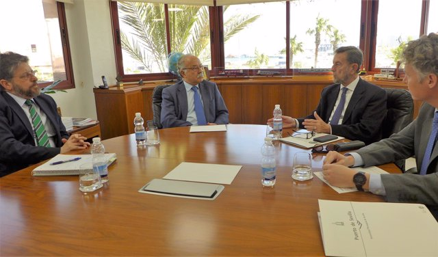 Reunión entre los puertos de Sevilla y Algeciras