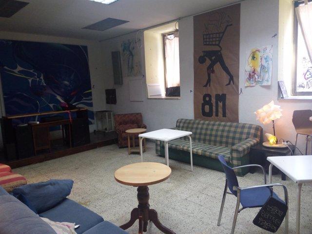 Sala de estar de 'La Ingobernable'