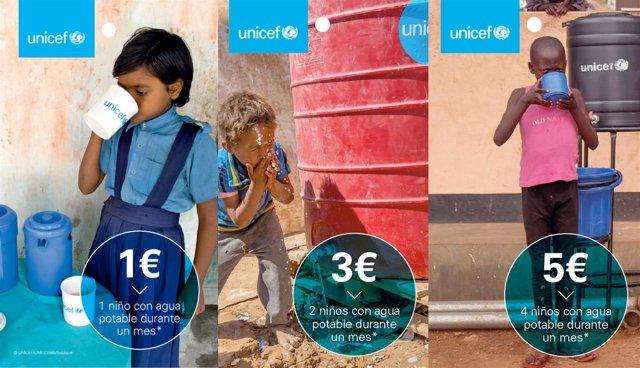 El Corte Inglés celebra el Día del Agua con tarjetas solidarias a beneficio de U