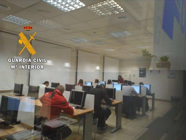 Aula de exámenes de Salamanca 21-03-2018