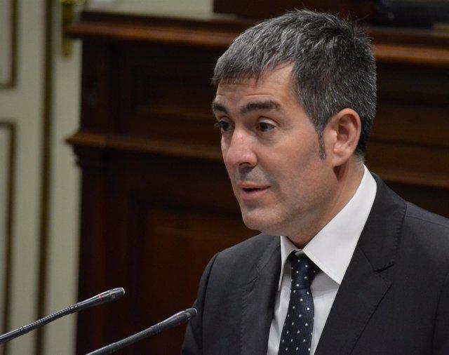 """Clavijo: """"Canarias está mejor que hace un año"""""""