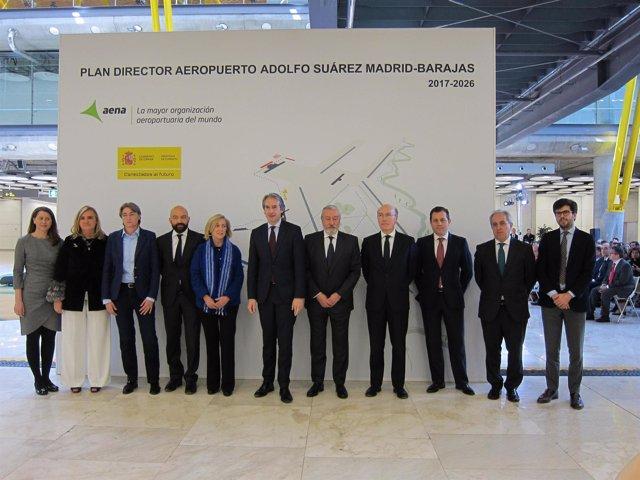 Presentación del Plan Director de Madrid-Barajas 2017-2026