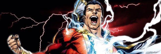 Revelado el logo de Shazam! (DC COMICS)