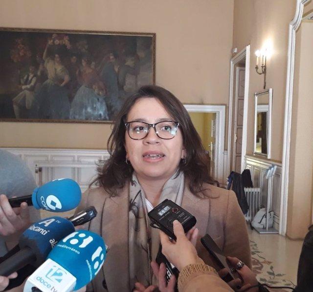 Yaneth Giraldo, portavoz de Ciudadanos, imagen de archivo