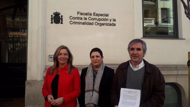 La oposición presenta una denuncia sobre el Campus de la Justicia