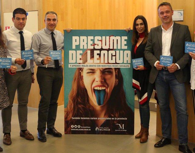 Presentación de Málaga Bilingüe