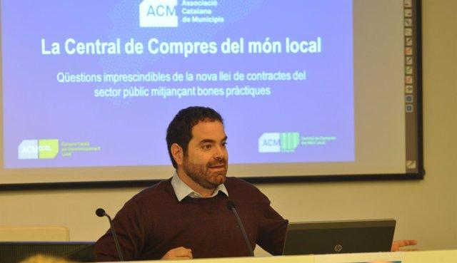 El presidente de la ACM, David Saldoni