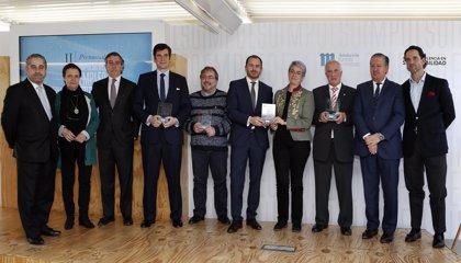 Fundación Telefónica, L'Oreal, ElMandela y Federación Salud Mental de CyL, II Premio al Impulso del Empleo Juvenil