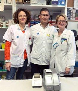 Personal sanitario del CAP de Balafia de Lleida