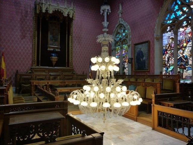 Lámpara del Consell de Mallorca