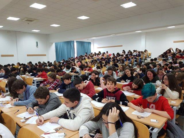 Participantes en el Concurso Jóvenes Talento de Relato Corto