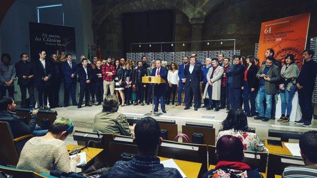 Presentación del 64 Festival de Mérida