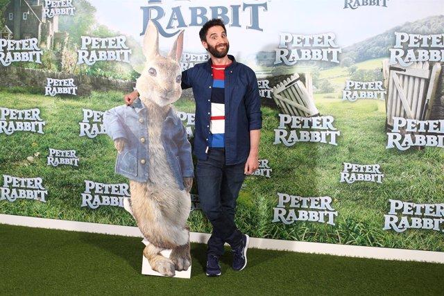 Dani Rovira pone voz a Peter Rabbit