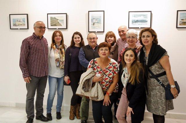 El artista José Miguel Gómez expone una veintena de 'Momentos' en Alfareros.
