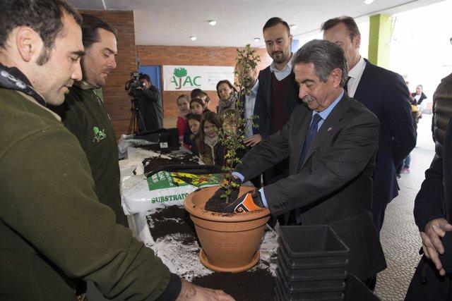 Revilla participa en el Día del Árbol