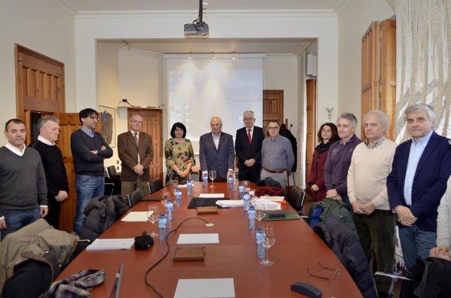 Miembros de la Comisión de Patrimonio de León