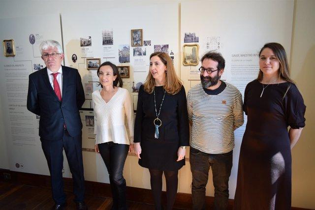 Representantes de las entidades que han participado en la inauguración 21-3-2018