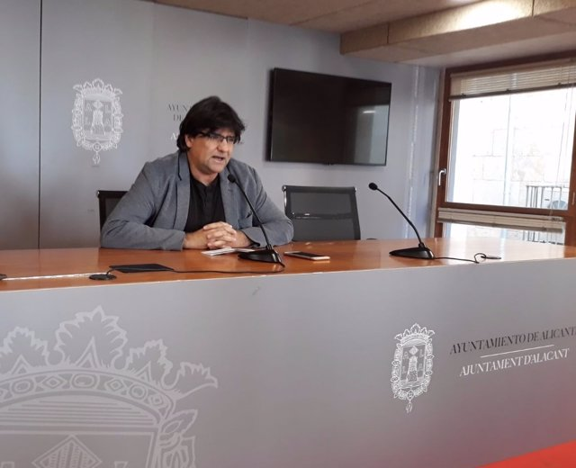 Miguel Ángel Pavón, este miércoles