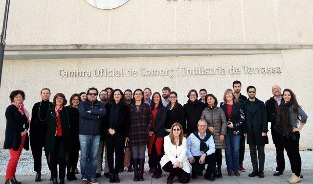 Participantes en la formación de la Cámara de Comercio de Terrassa