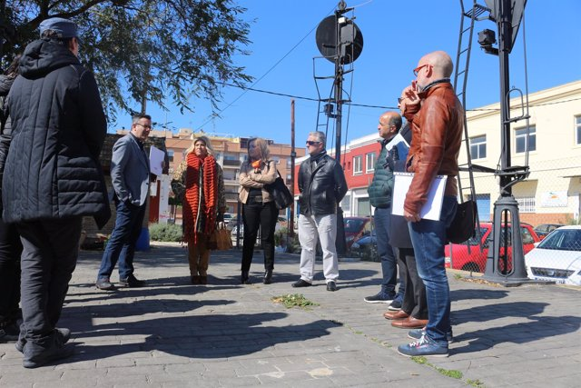 Diego Conesa visita la fundación Cepaim