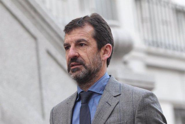 El actual jefe de los Mossos, Ferrán López, llega al Tribunal Supremo