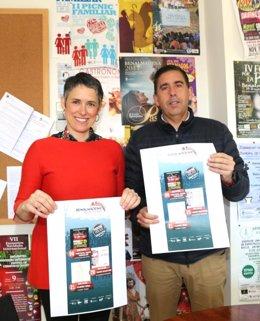 Ana Scherman y Luis Moreno Grupo Mundo Festival de Verano de Benalmádena
