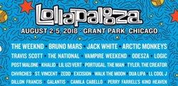 Brutal el Lollapalooza 2018: Bruno Mars, The Weeknd, Arctic Monkeys, Jack White, Vampire Weekend, Camila Cabello... (LOLLAPALOOZA)
