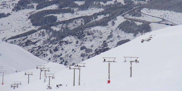 Sierra Nevada se ha visto afectada por varios temporales en 2018