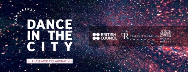 Cartel 'Dance in the city' del British Council, Teatro Real y Royal Ballet
